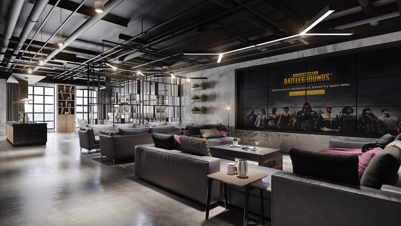2昆明工业风格办公室设计