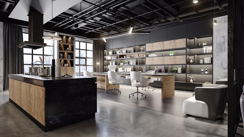 昆明工业风格办公室设计